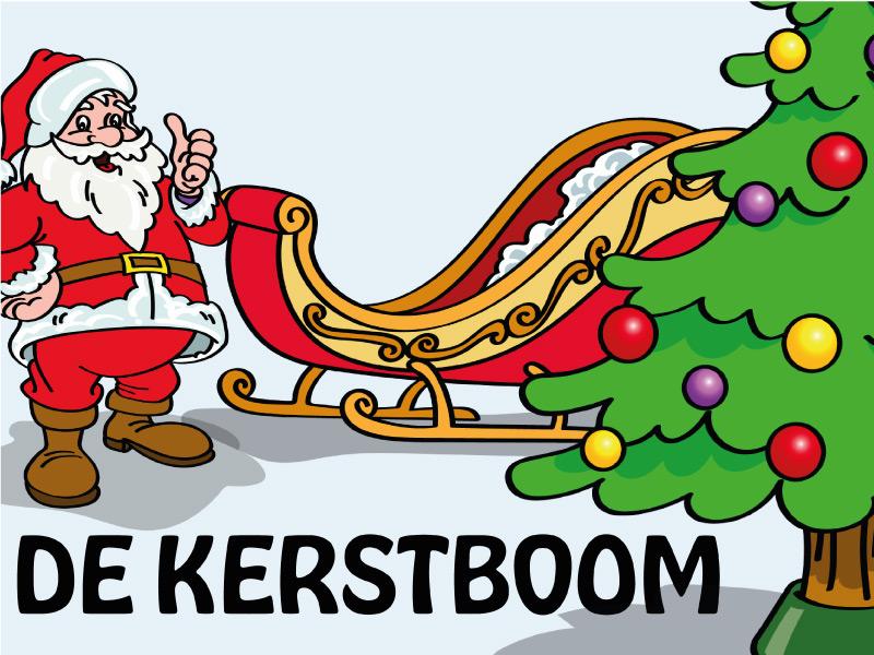 kleuterkracht thema de kerstboom