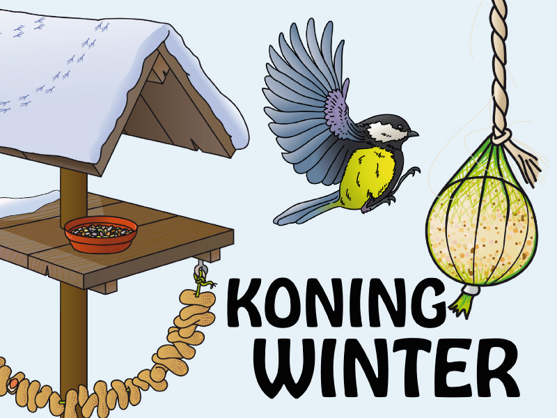 kleuterkracht thema koning winter